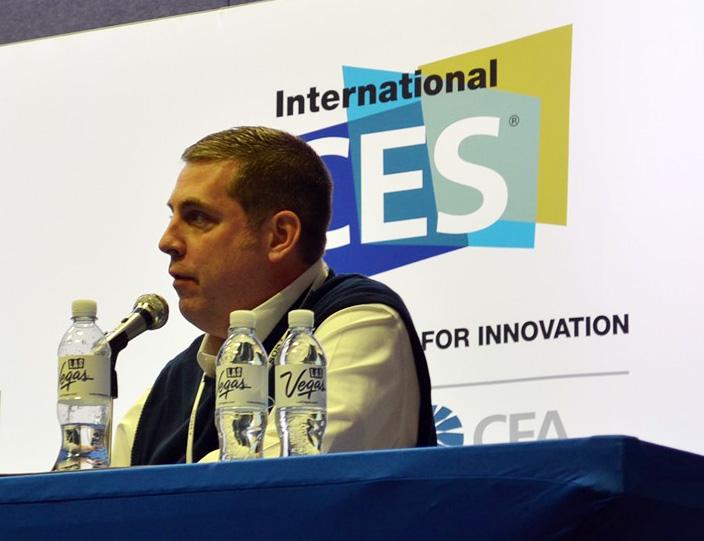 Ford's John Ellis in the GENIVI 2014 International CES Collaborate or Die panel debate