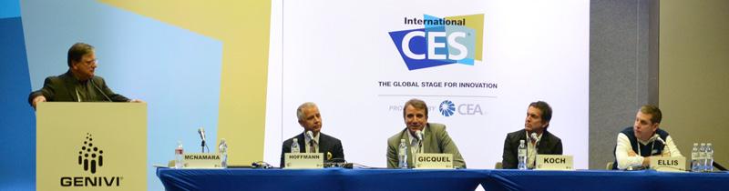 GENIVI at 2014 International CES Collaborate or Die panel