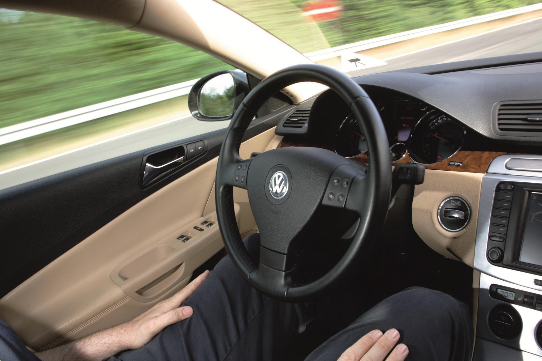 VW autonomous car