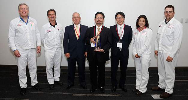 Sanyo America Machine Corporation receives Supplier of the Year award