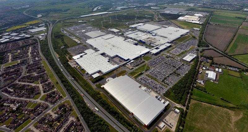 Nissan Sunderland Plant - Aerial view