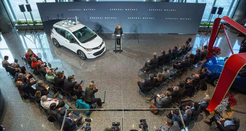 GM autonomous vehicle testing and manufacturing in Michigan