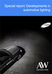 Special report: Developments in automotive lighting
