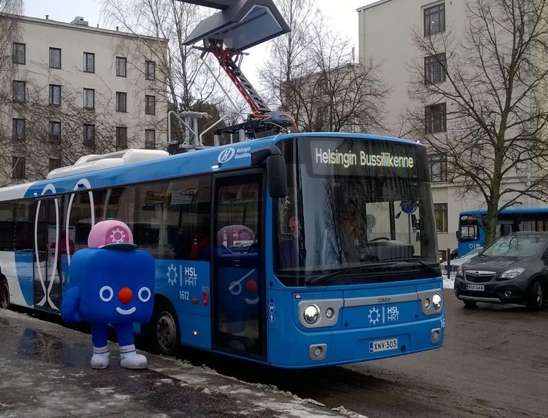 Linkker bus Helsinki