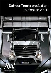 Daimler Trucks production outlook to 2021