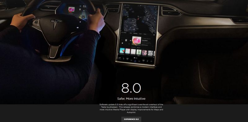 Tesla over-the-air update
