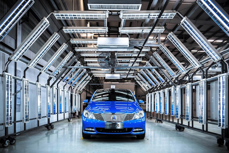 Daimler's DENZA 400 new energy vehicle (NEV)