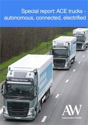 Special report: ACE trucks - autonomous, connected, electrified