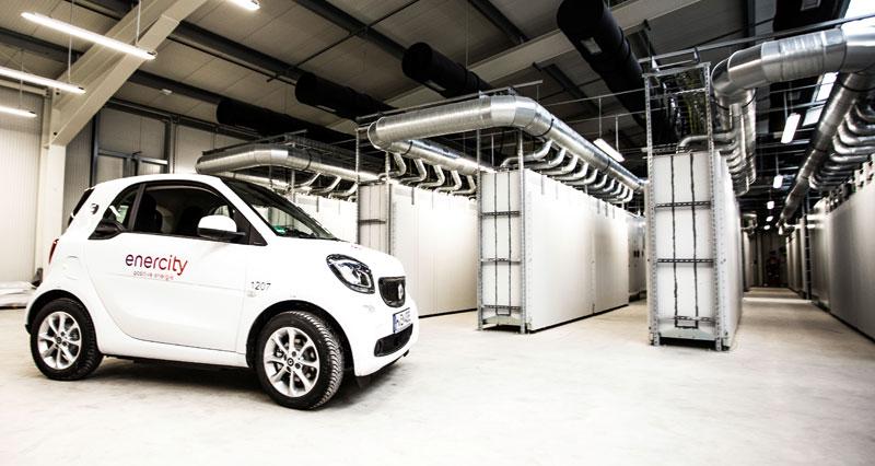 Daimler and enercity