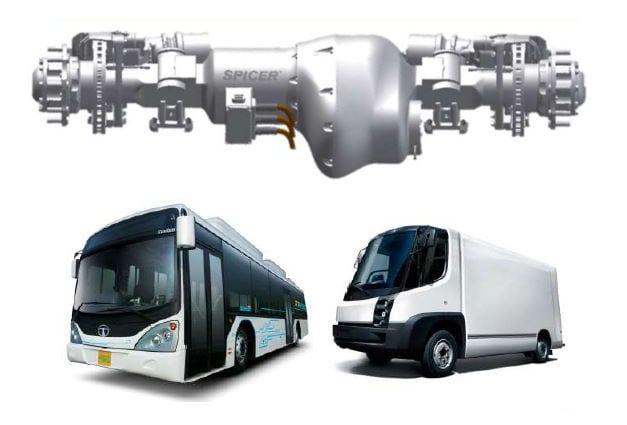 Dana Spicer Helios integrated e-axle