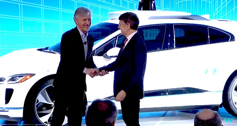 John Krafcik, Waymo and Ralf Speth, Jaguar Land Rover