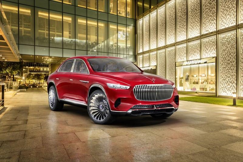 Vision Mercedes-Maybach Ultimate Luxury.