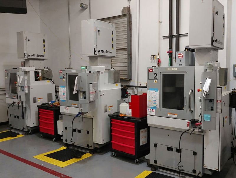 dlhBOWLES High speed CNC office mills