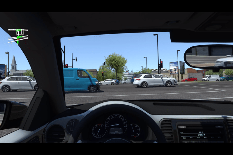 AV testing in simulation
