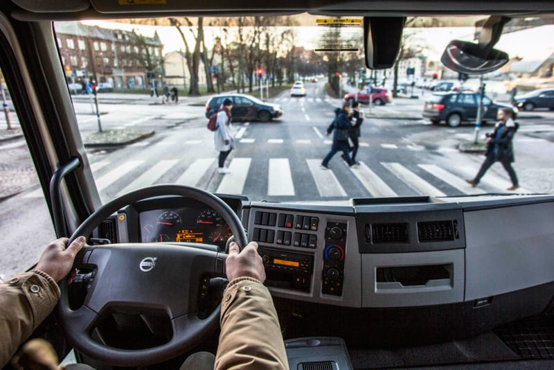 Volvo Trucks - city safety