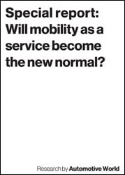 Special report: Will Mobility as a Service become the new normal?