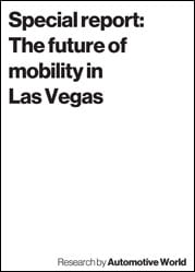 Special report: The future of mobility in Las Vegas