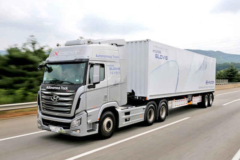Hyundai's First Domestic Autonomous Truck 3