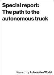 Special report: The path to the autonomous truck