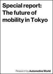 Special report: The future of mobility in Tokyo