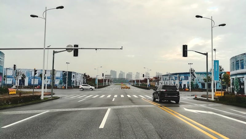 Ford C-V2X trial tests at Shanghai's National Intelligent Vehicle Pilot Zone