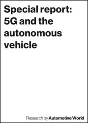 Special report: 5G and the autonomous vehicle