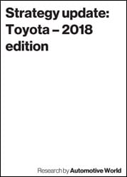 Strategy update: Toyota – 2018 edition
