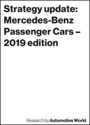 Strategy update: Mercedes-Benz Passenger Cars – 2019 edition