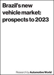 Brazil's new vehicle market: prospects to 2023