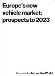 Europe's new vehicle market: prospects to 2023