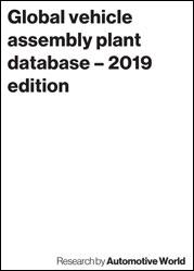 Global vehicle assembly plant database – 2019 edition