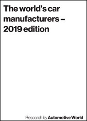 The world's car manufacturers – 2019 edition