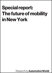 Special report: The future of mobility in New York