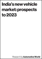 India's new vehicle market: prospects to 2023