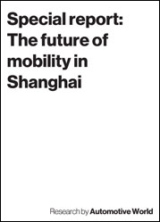 Special report: The future of mobility in Shanghai
