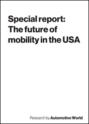 Special report: The future of mobility in the USA