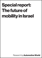 Special report: The future of mobility in Israel