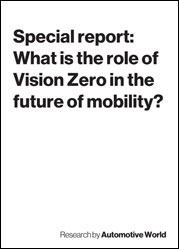 Special report: What is the role of Vision Zero in the future of mobility?