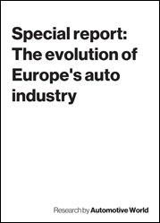 Special report: The evolution of Europe's auto industry