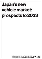 Japan's new vehicle market: prospects to 2023