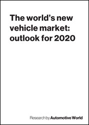 The world's new vehicle market: outlook for 2020