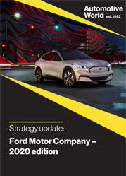 Strategy update: Ford Motor Company – 2020 edition