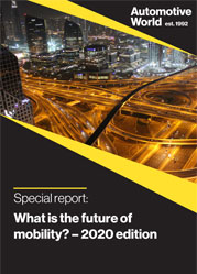 Special report: What is the future of mobility? – 2020 edition