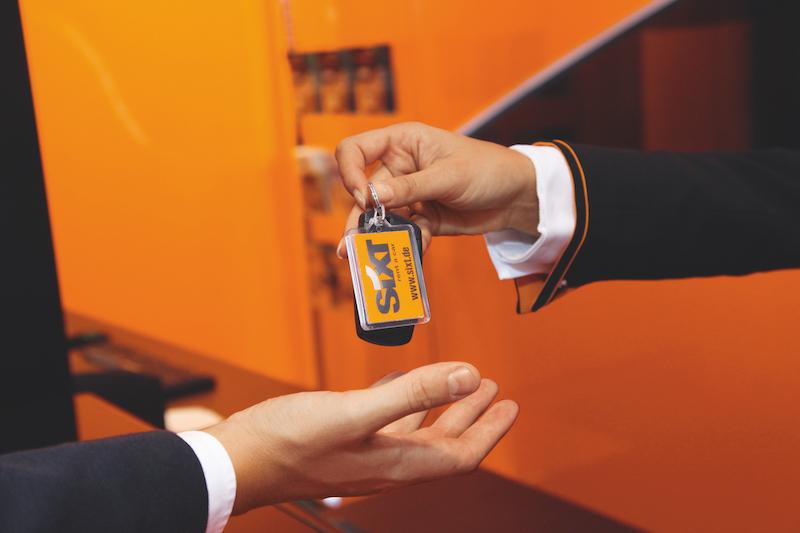 Sixt-car-rental-key
