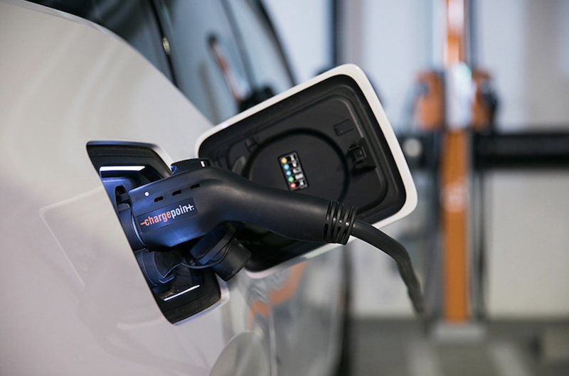 ChargePoint electric vehicle charging