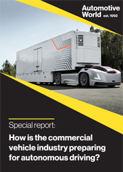 Special report: How is the commercial vehicle industry preparing for autonomous driving?