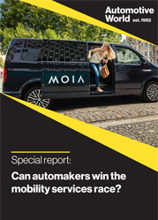 Special report: Can automakers win the mobility services race?