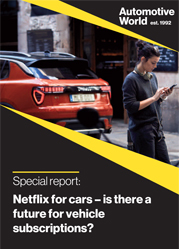 Special report: Netflix for cars – is there a future for vehicle subscriptions?
