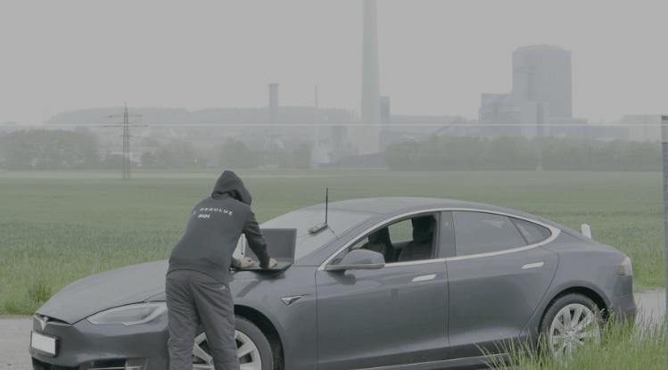 Regulus Cyber attack on Tesla