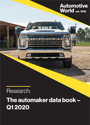 The automaker data book – Q4 2019